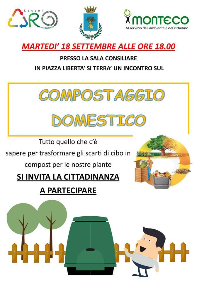 incontro compostaggio domestico campi salentina
