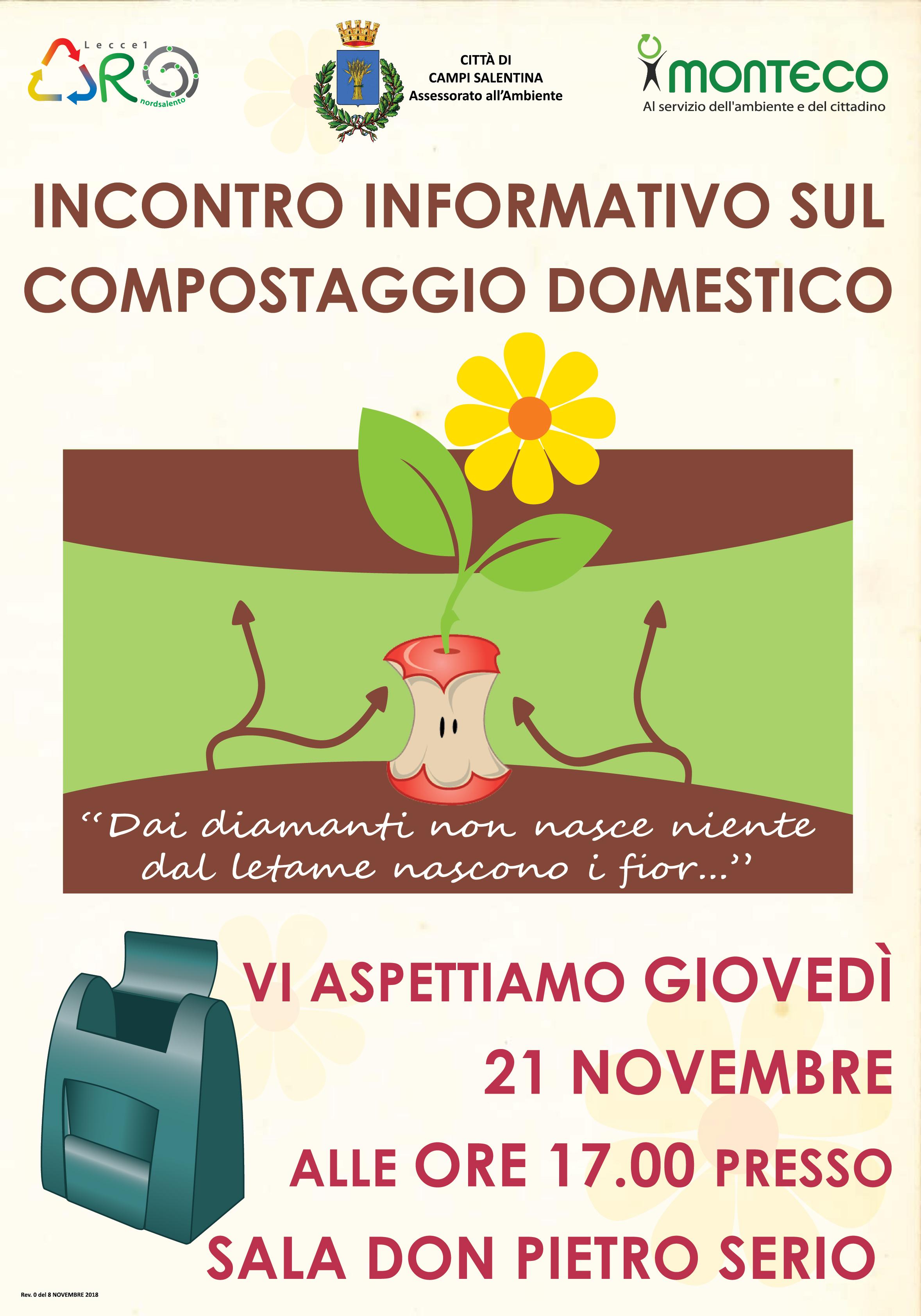 Campi Salentina: Incontro informativo sul compostaggio domestico