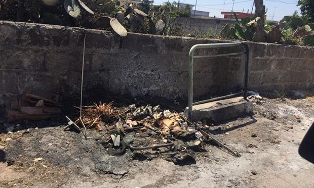 Bruciati a Surbo alcuni bidoni dell'indifferenziata. L'azienda Monteco li sostituisce con altri nuovi