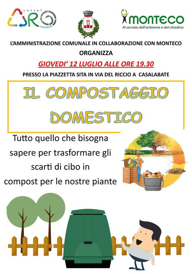 Trepuzzi-Casalabate: nuovo incontro sul compostaggio domestico