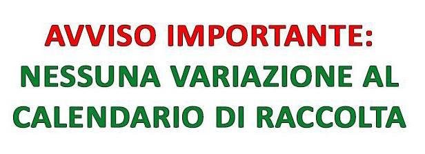 AVVISO IMPORTANTE ALLE UTENZE DEI COMUNI DELL'ARO TA/2